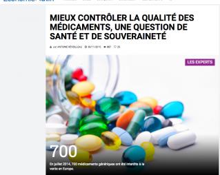 Mieux contrôler la qualité des médicaments...
